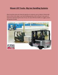 Nissan Lift Trucks.pdf
