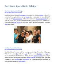 Best Knee Specialist in Udaipur.pdf