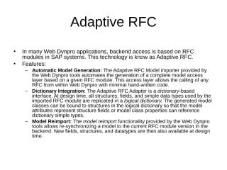 AdaptiveRFC.ppt