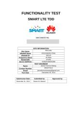 SMART LTE TDD Functionality Test_D22_MERCEDEZ.docx